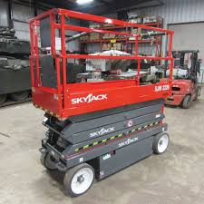 SkyJack Scissor Lift - Rent Equipment in New Hampshire and Vermont